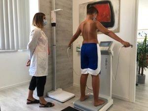 Valutazione della composizione corporea mediante antropometria e bioimpedenzionetria